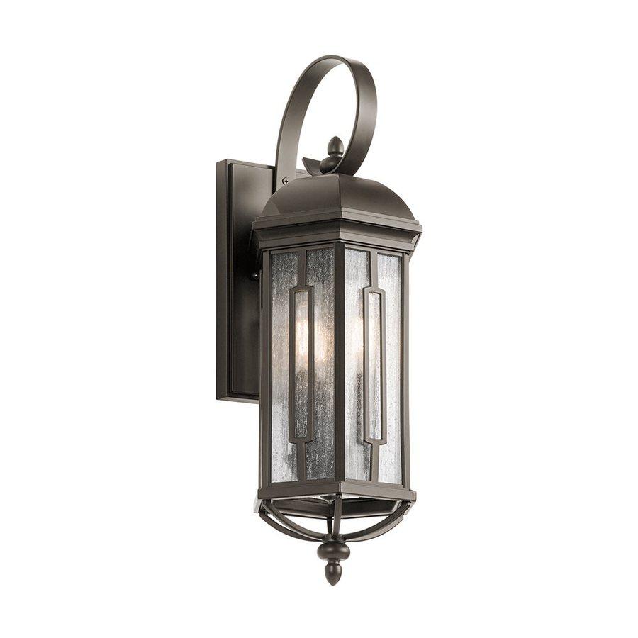 Kichler Lighting Galemore 21.75-in H Olde Bronze Outdoor Wall Light