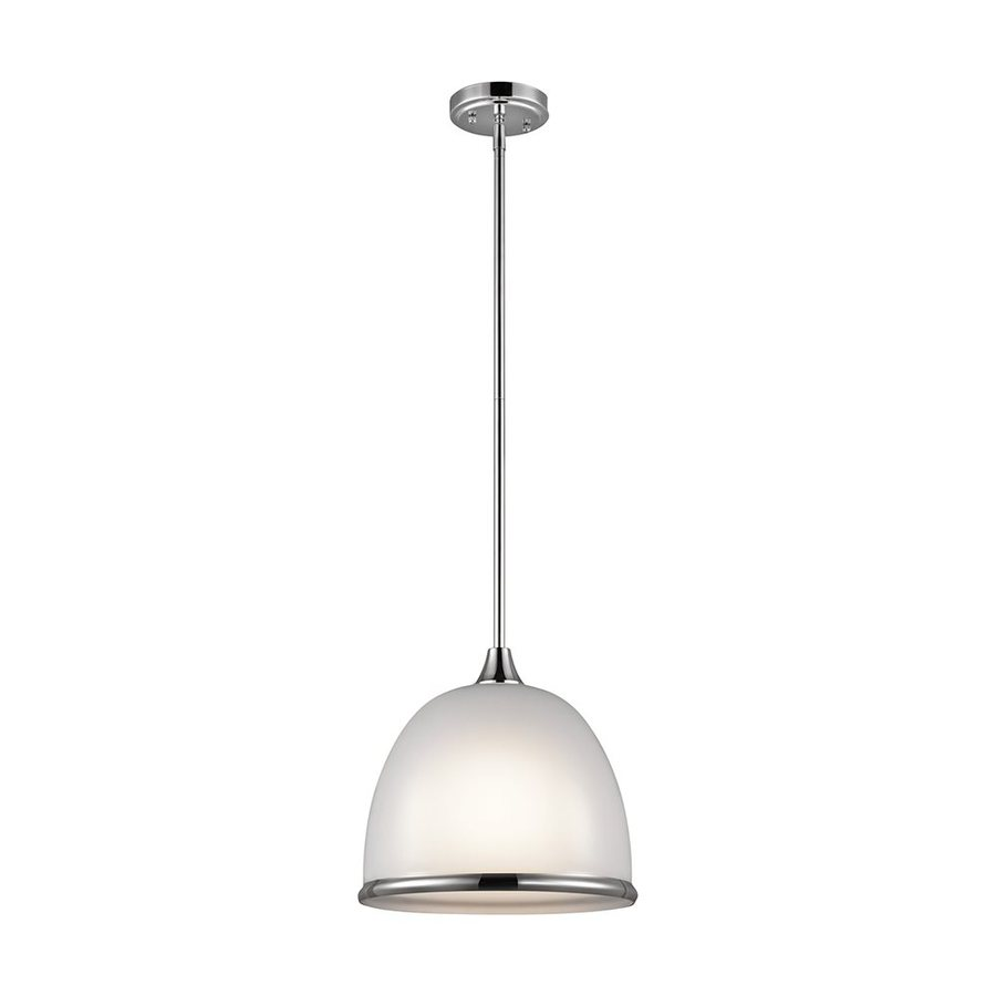 Kichler Lighting Rory 12-in Chrome Hardwired Single Dome Pendant