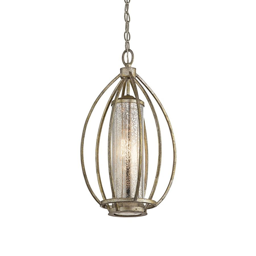 Shop Kichler Lighting Savanna 12 In Sterling Gold