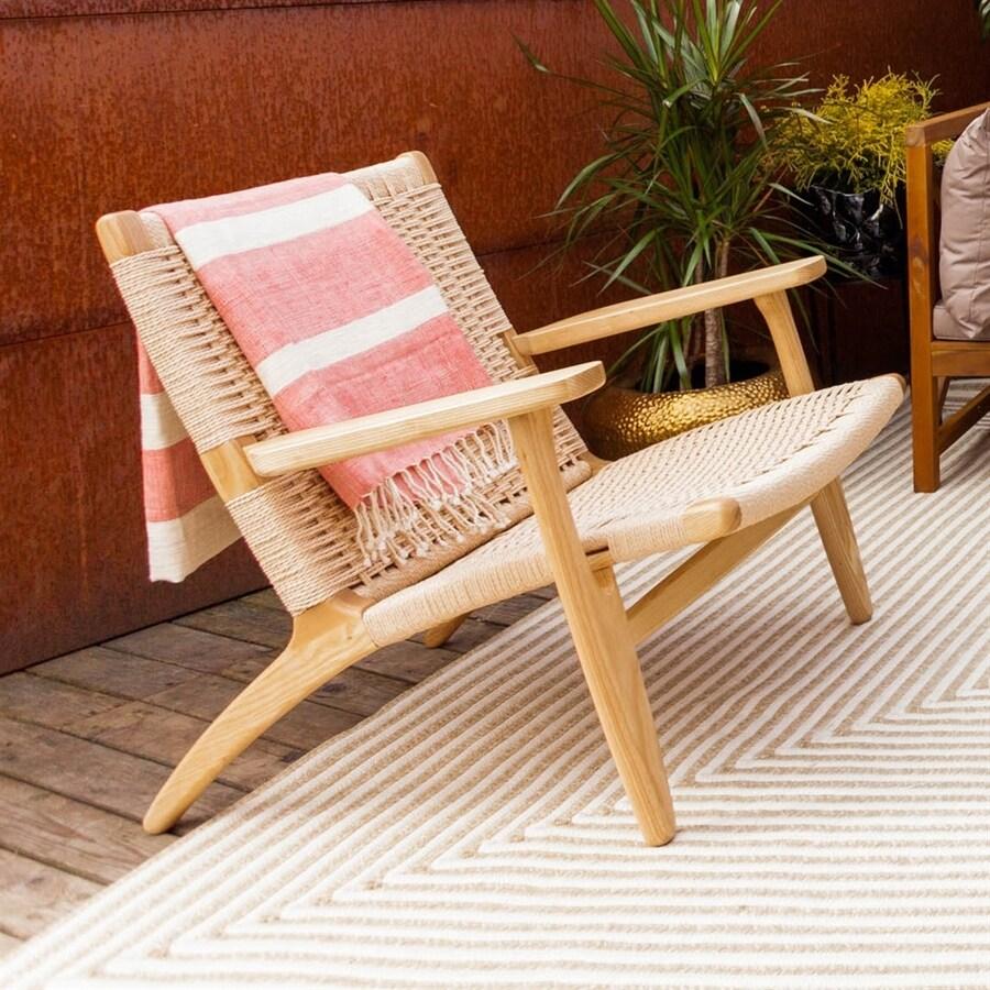 Stilnovo USA Sungar Natural Ash Accent Chair
