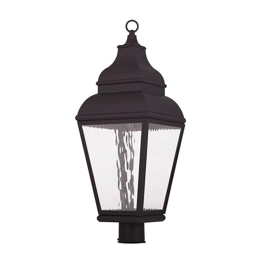 Livex Lighting Exeter 29.5-in H Bronze Integrated LED Post Light