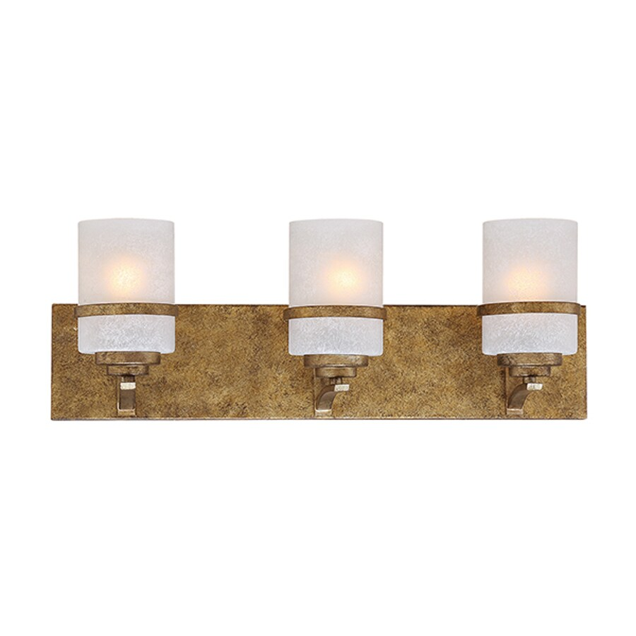 Millennium Lighting 3-Light Benton Vintage Gold Bathroom Vanity Light