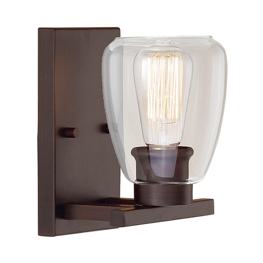 Millennium Lighting 1-Light Rubbed Bronze Bathroom Vanity Light