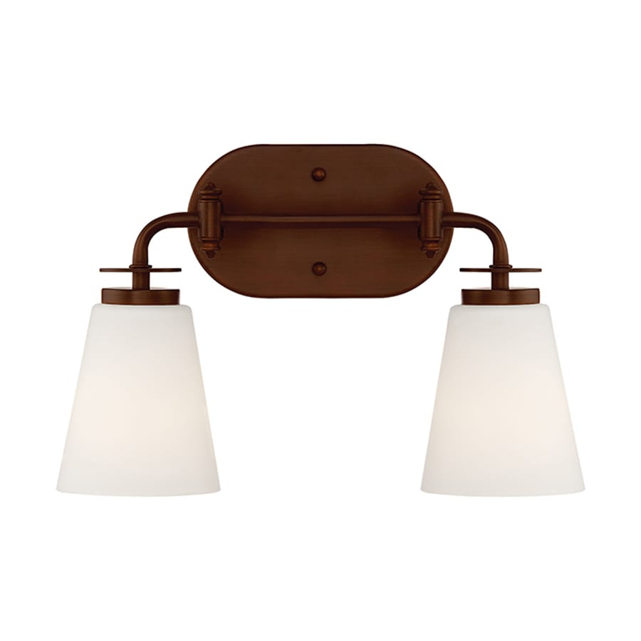 Millennium Lighting 2-Light Rubbed Bronze Bathroom Vanity Light