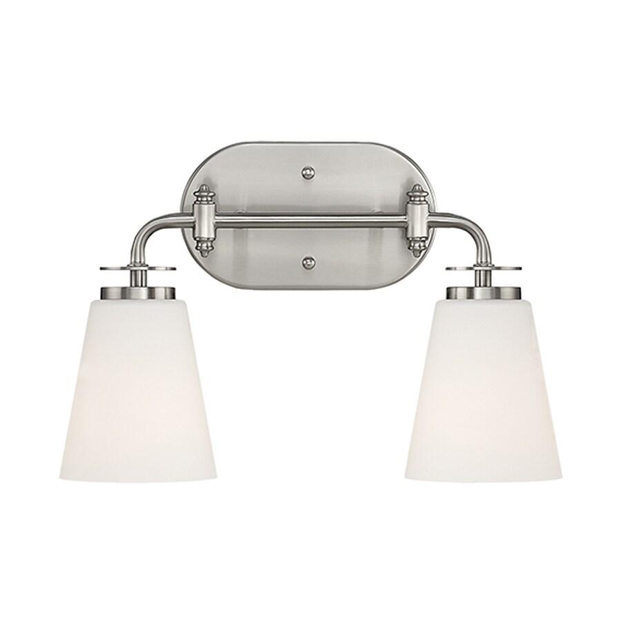 Millennium Lighting 2-Light Satin Nickel Bathroom Vanity Light