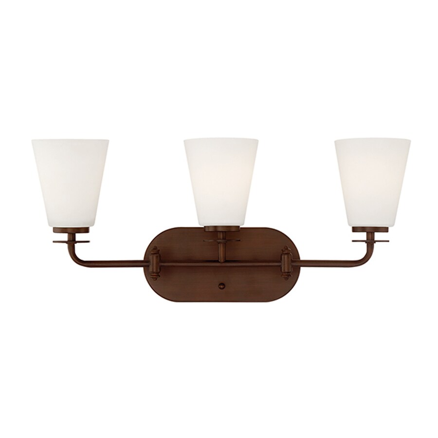 Millennium Lighting 3-Light Rubbed Bronze Bathroom Vanity Light