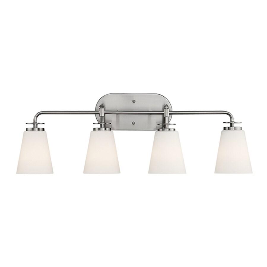 Millennium Lighting 4-Light Satin Nickel Bathroom Vanity Light