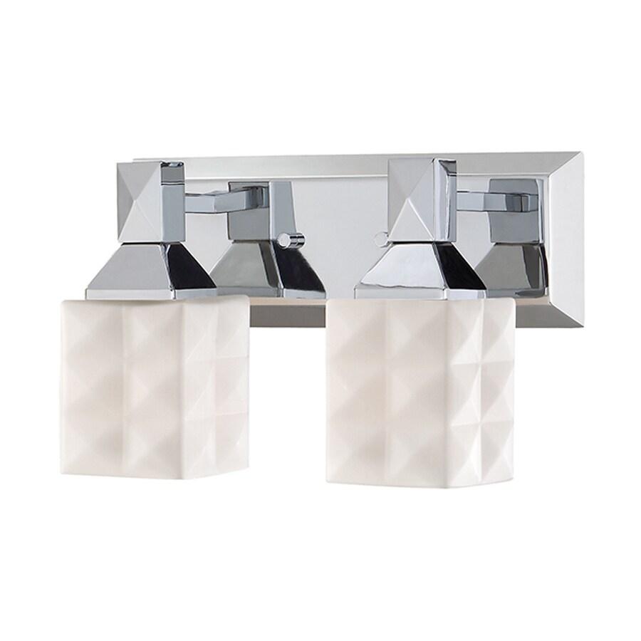 Millennium Lighting 2-Light Chrome Bathroom Vanity Light