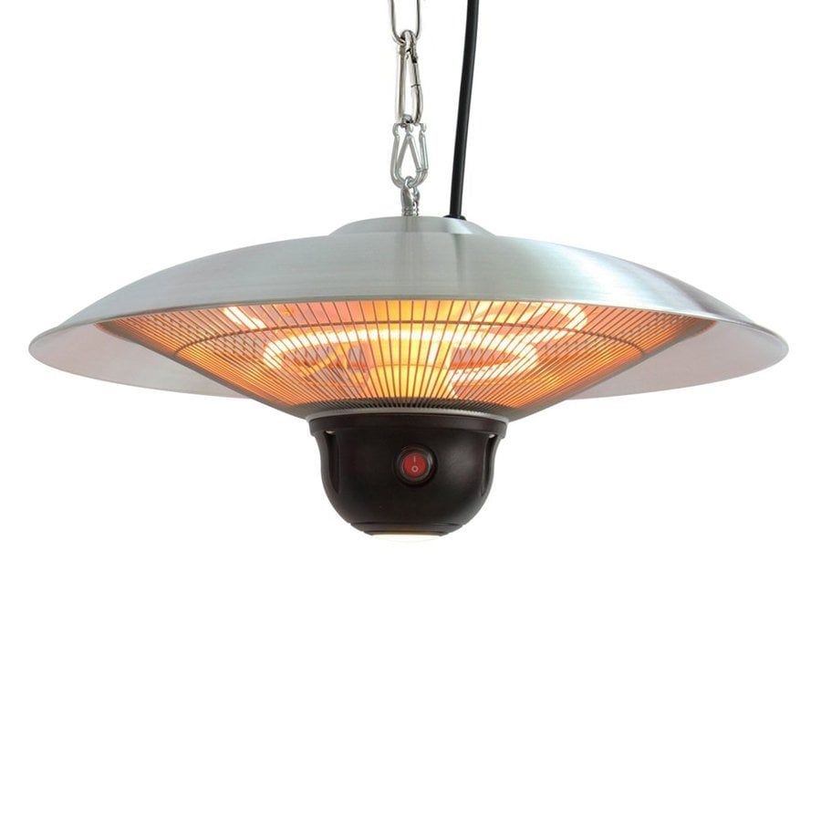 shop energ aluminum electric patio heater at lowes