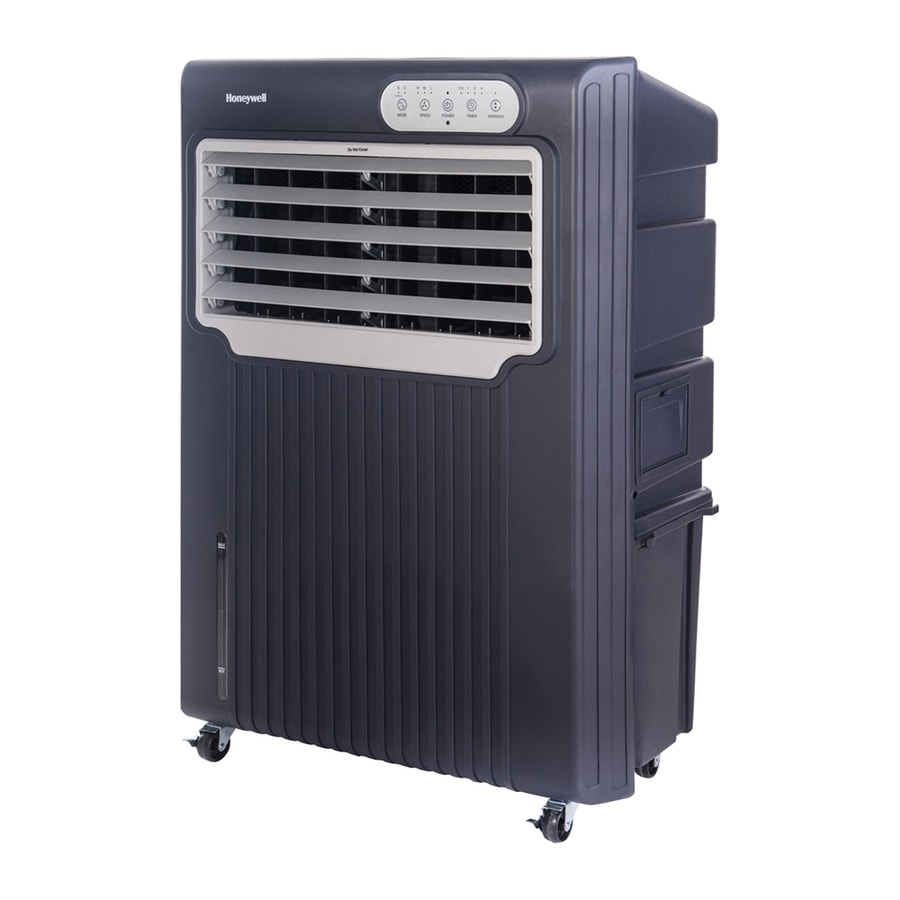 Evaporative Portable Air Conditioner : Shop honeywell sq ft volt portable evaporative air