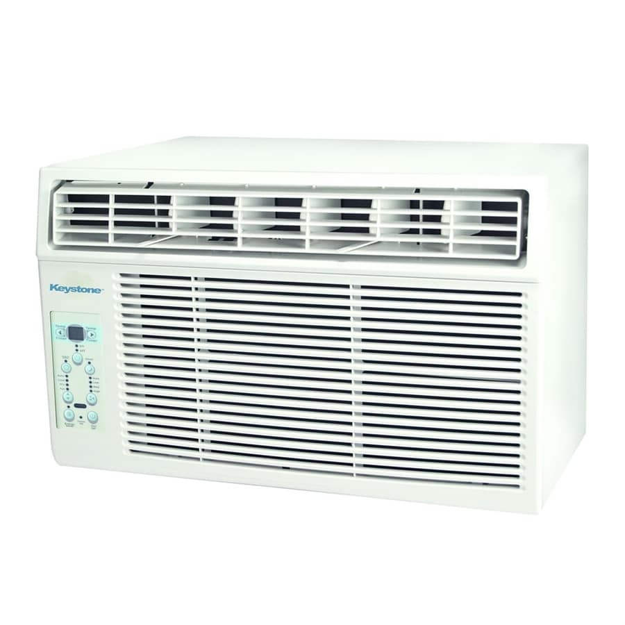 Shop keystone 12 000 btu 550 sq ft 115 volt window air for 12000 btu ac heater window unit
