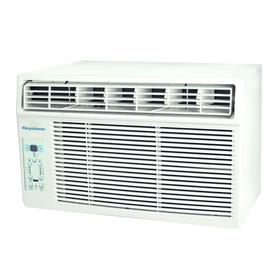 Shop keystone 12 000 btu 550 sq ft 115 volt window air for 12000 btu window ac with heat