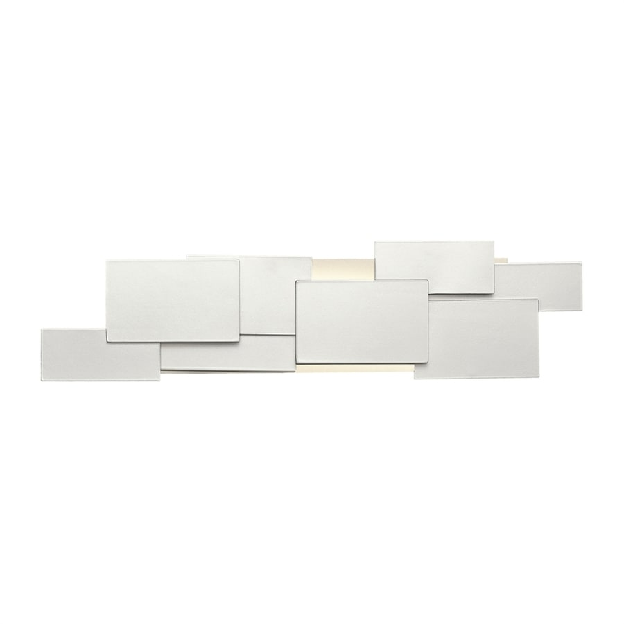 Elan Kinslee Platinum Bathroom Vanity Light