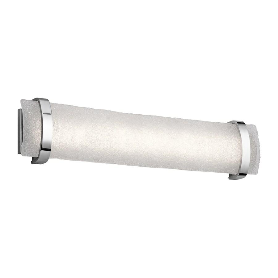 Elan Adara Brushed Nickel LED Bathroom Vanity Light