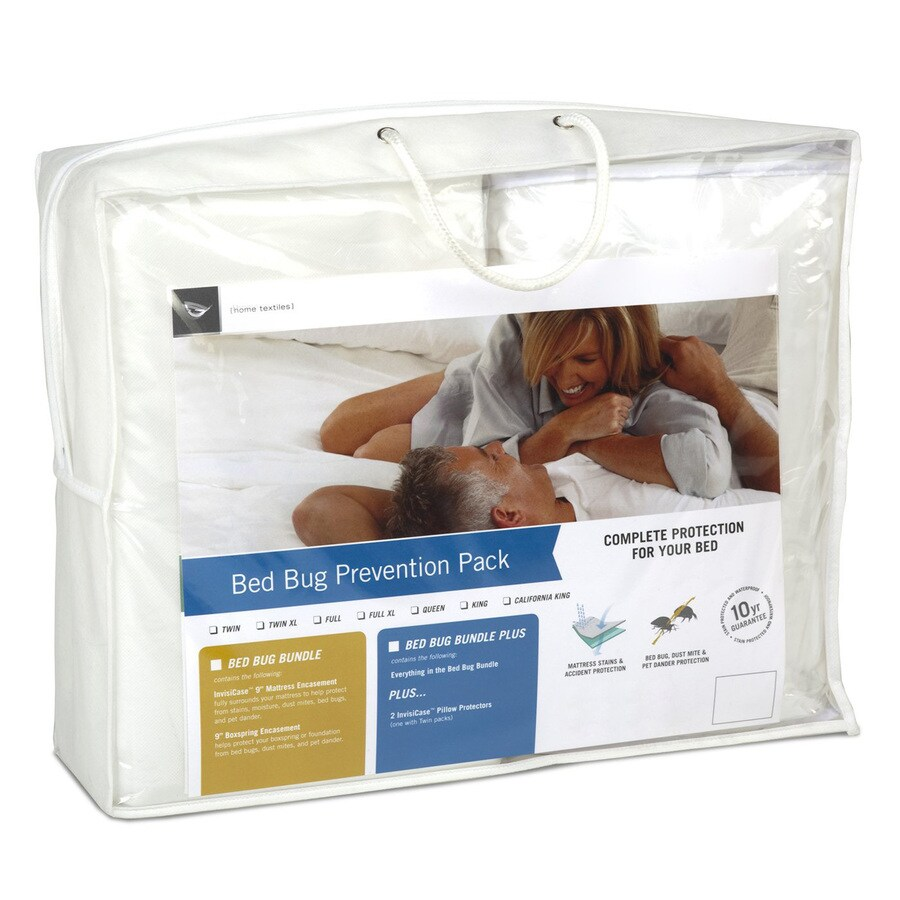 Fashion Bed Group Polyester Full Extra Long Mattress Cover with Bed Bug Protection