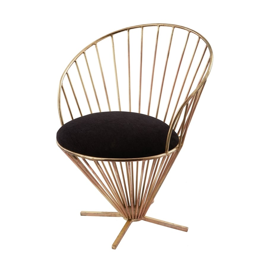 Dimond Home Gold Accent Chair
