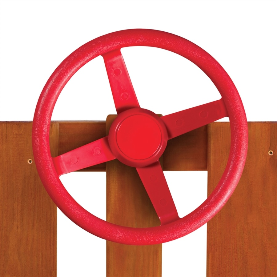 Gorilla Playsets Red Steering Wheel