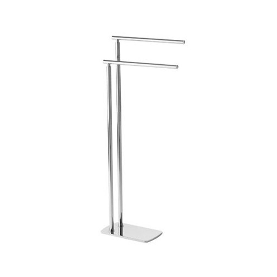 Nameeks Florida Chrome Double Towel Bar (Common: 15-in Double; Actual: 15.21-in)