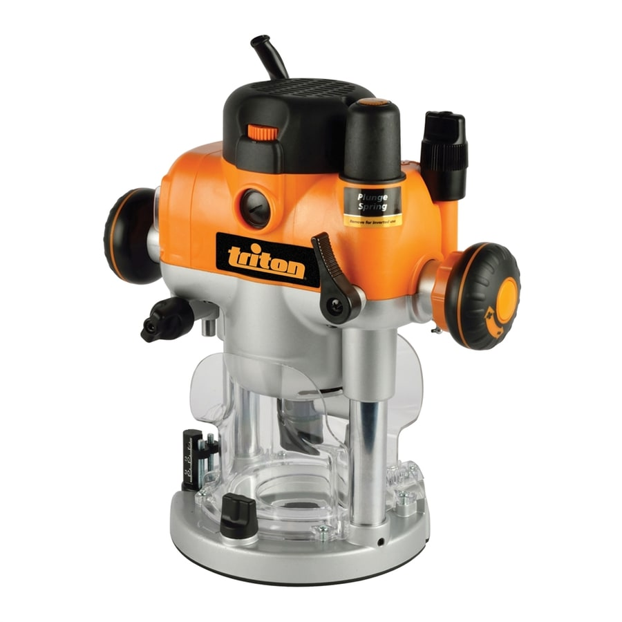 Triton Tools 3.25-HP Variable Speed Plunge Corded Router