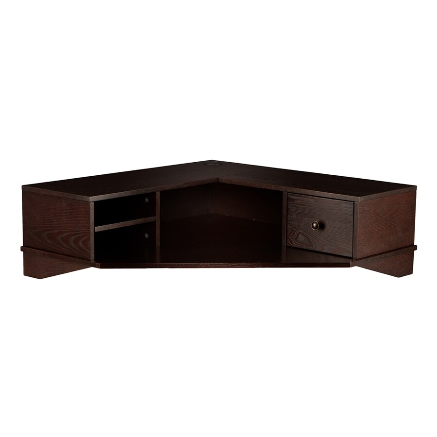 Boston Loft Furnishings Raider Espresso Corner Desk