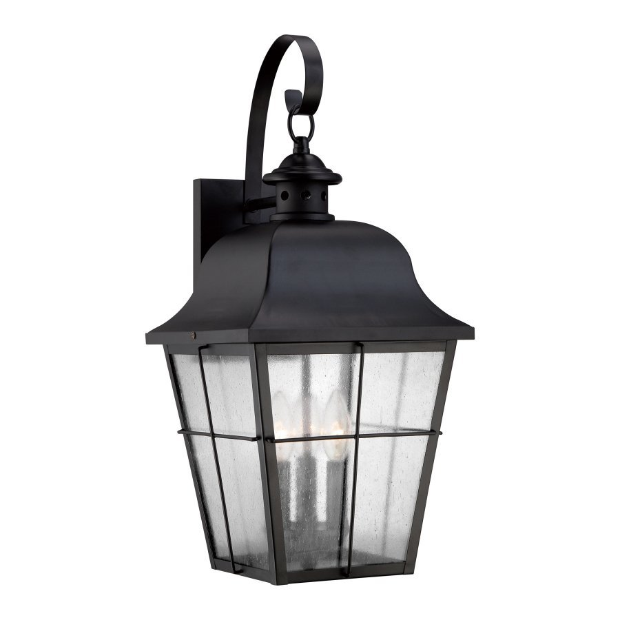 Quoizel Millhouse 22-in H Mystic Black Outdoor Wall Light