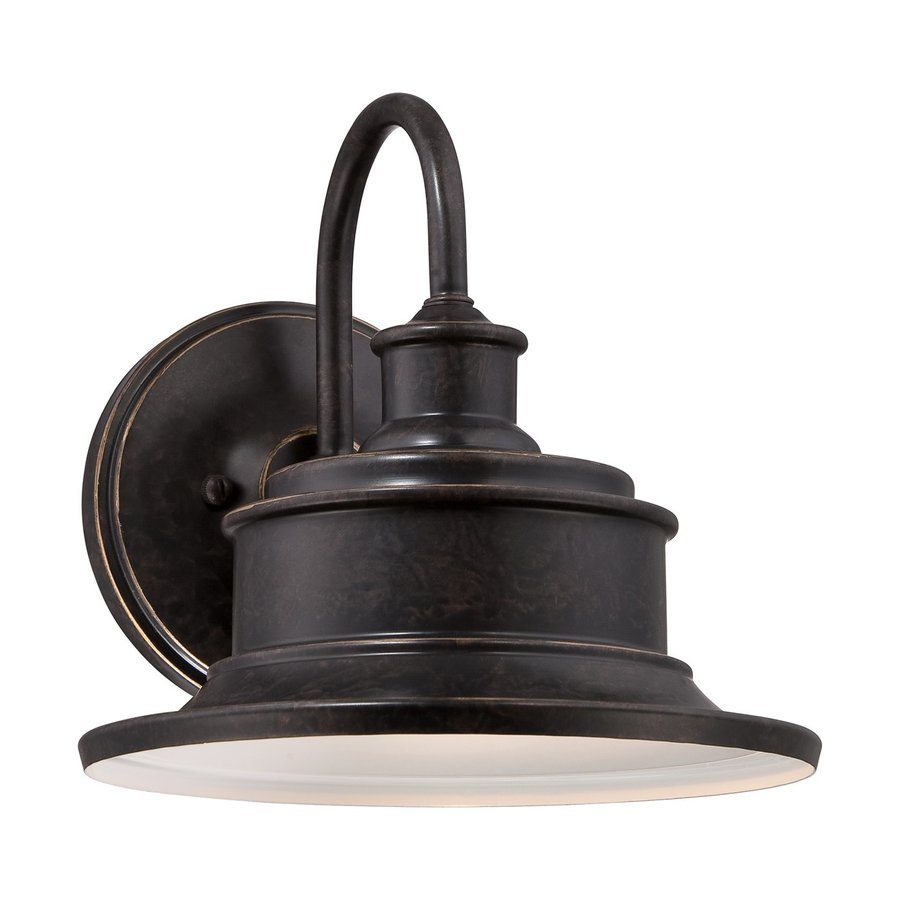 Quoizel Seaford 11-in H Imperial Bronze Outdoor Wall Light