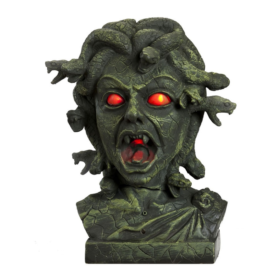 J. Marcus Animatronic Lighted Freestanding Sculpture with Red Lights
