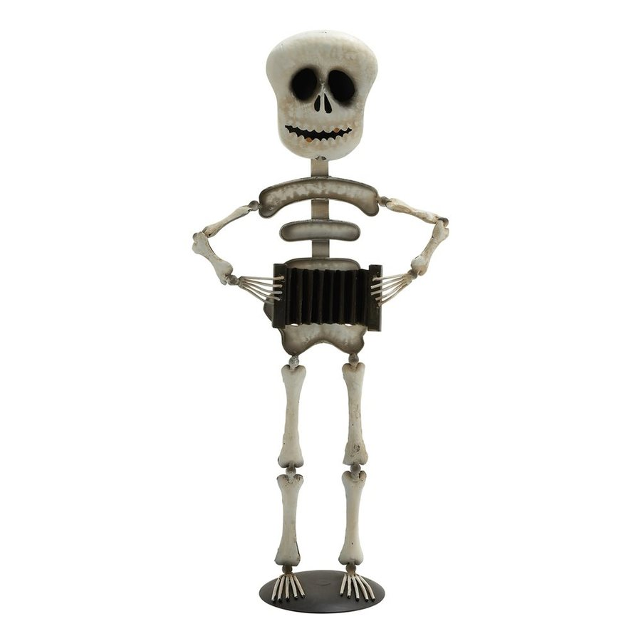 Woodland Imports Freestanding Skeleton Statue