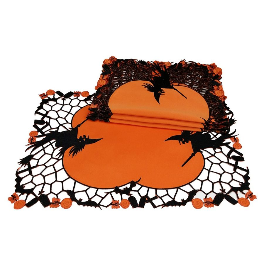 XIA Home Fashions Witch Tabletop Witch Placemat (Set of 4)