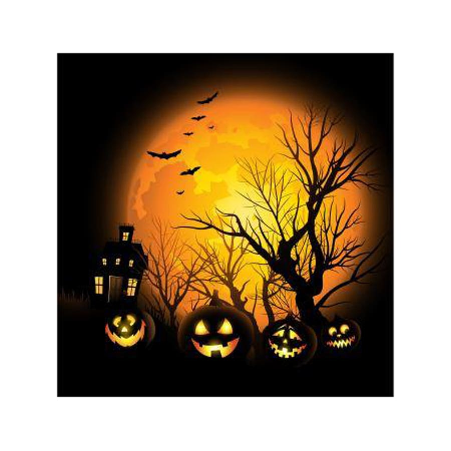 ICONICS Spooktacular Halloween Wall-Mounted Pumpkin Sign