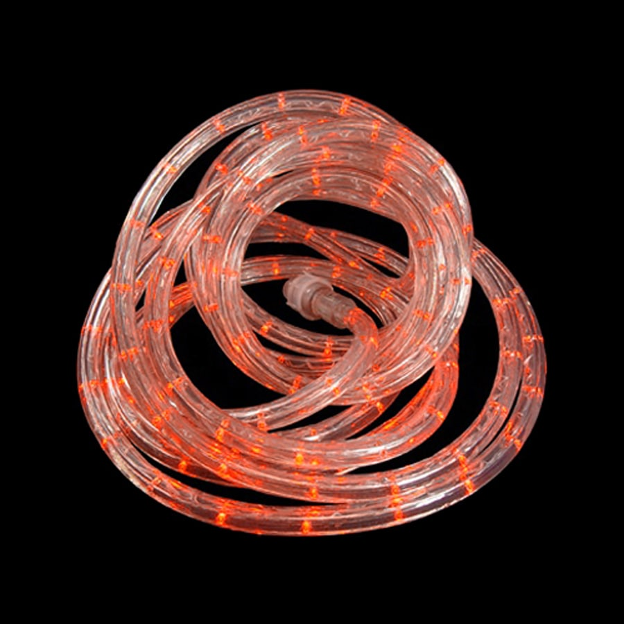 Shop Northlight Orange LED Rope Light (Actual: 18 Feet) At