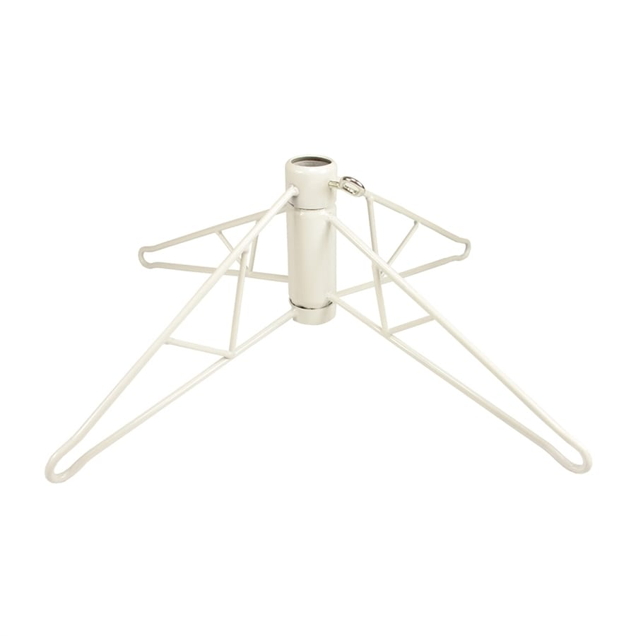 Northlight 34-in White Metal Tree Stand for 11.5-ft Tree