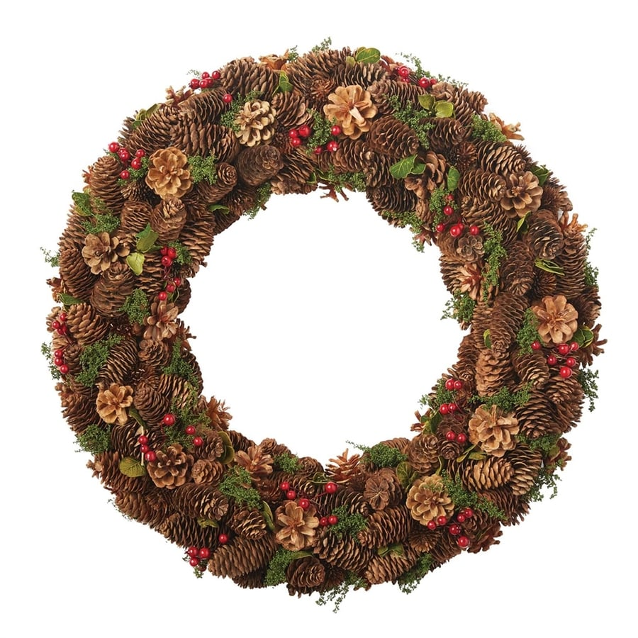 Design Imports 22-in Artificial Christmas Wreath