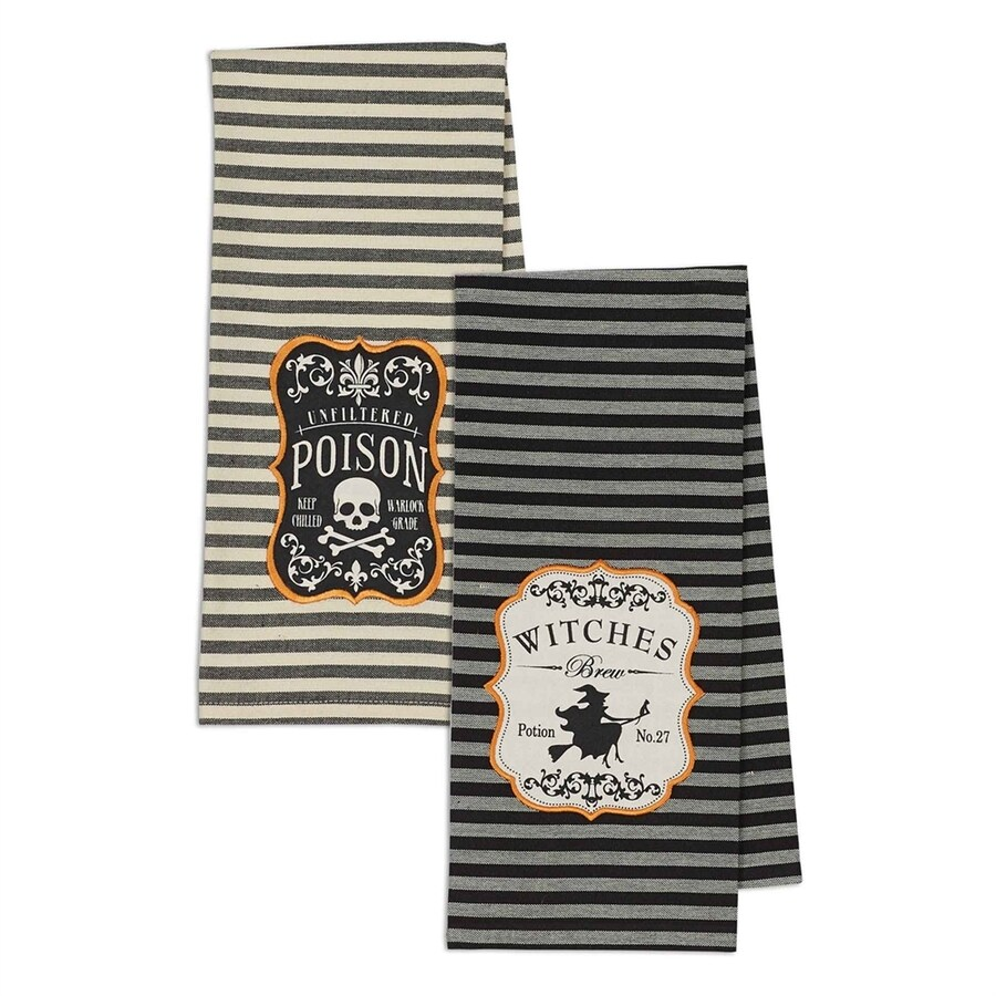 Design Imports Hocus Pocus Witches Brew Tabletop Witch Towels