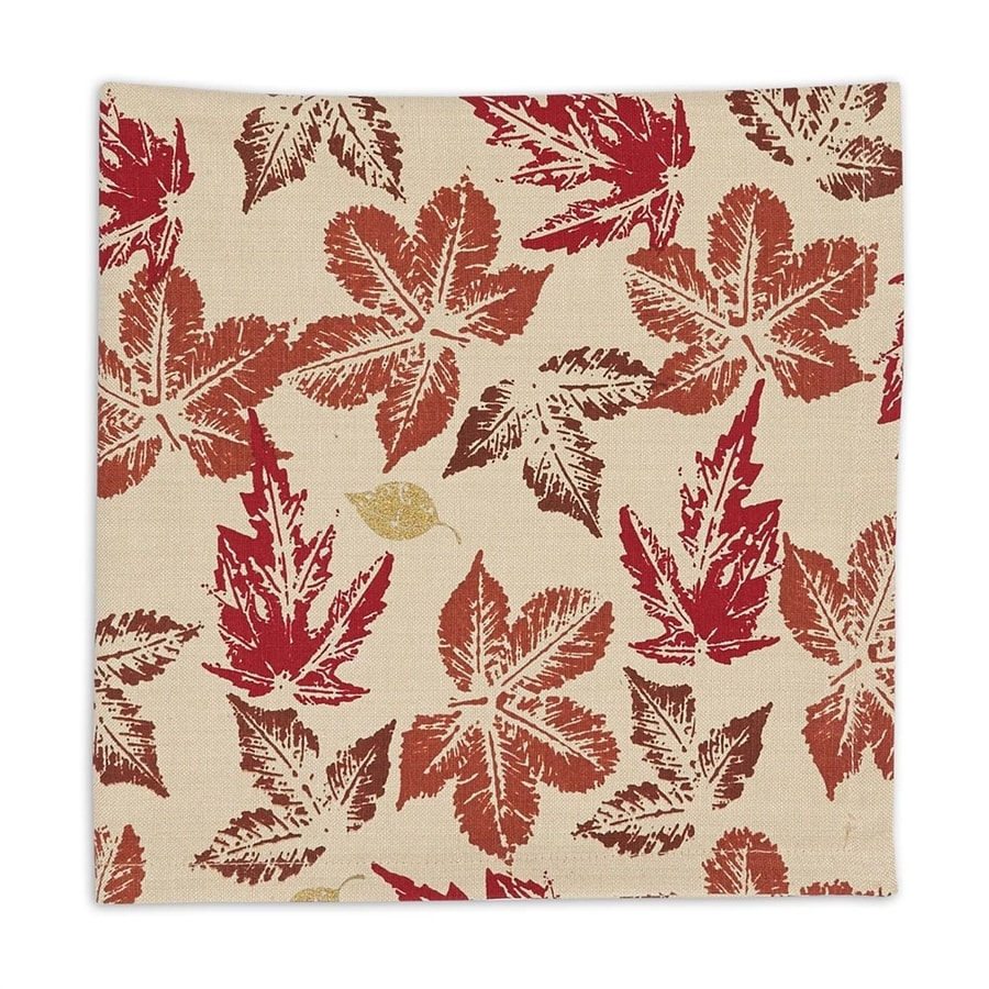 Design Imports 6-Piece Leaves Napkin Indoor Thanksgiving Decoration