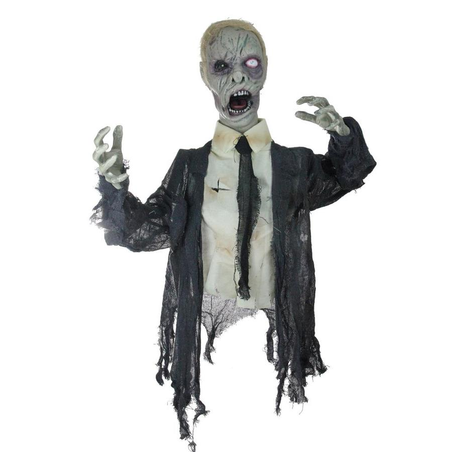 Northlight 17 in Lighted and Animated Groundbreaking Zombie Halloween Yard Decor