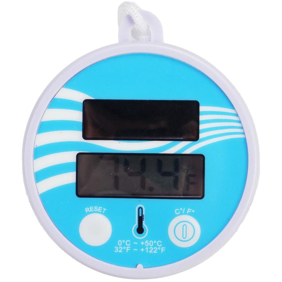 BIlinli Pool Spa Digital Floating Waterproof Solar Thermometer with Fahrenheit /& Celsius