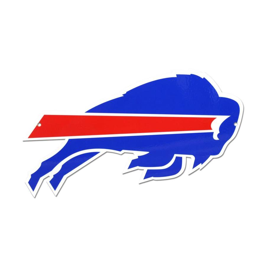 Authentic Street Signs 12 In Buffalo Bills Steel Logo In The Wall Art Department At Lowes Com