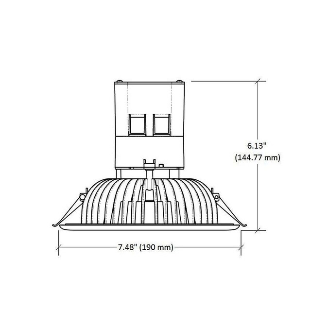 Designers Fountain White LED Remodel Recessed Light Kit