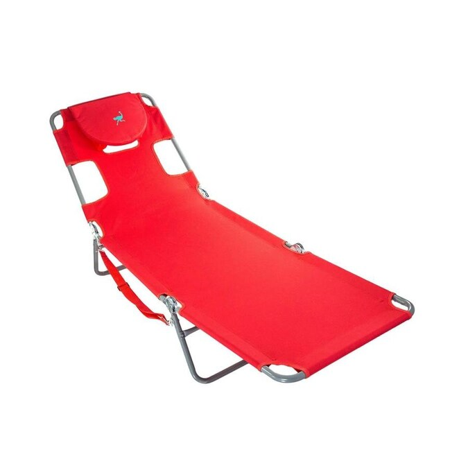 Ostrich Ostrich Chaise Lounge Folding Portable Sunbathing ...