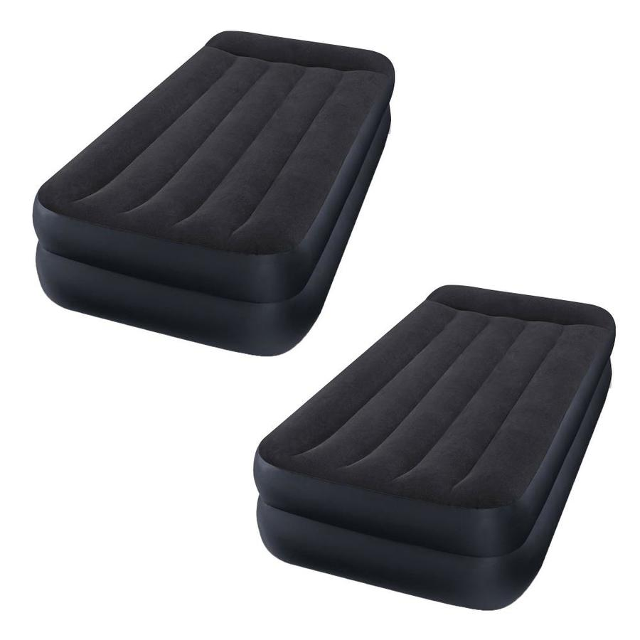 3 Pack Intex Dura Beam Deluxe Pillow Rest Raised Airbed w// Built in Pump Twin