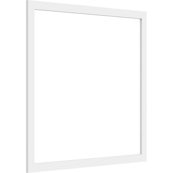 Ekena Millwork Prescott 32-in x 30-in Smooth Off-White