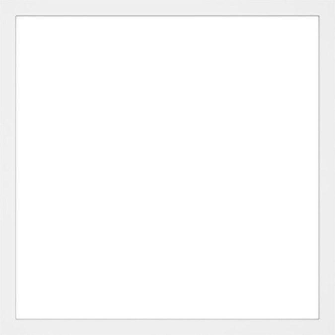 Ekena Millwork Prescott 32-in x 32-in Smooth Off-White