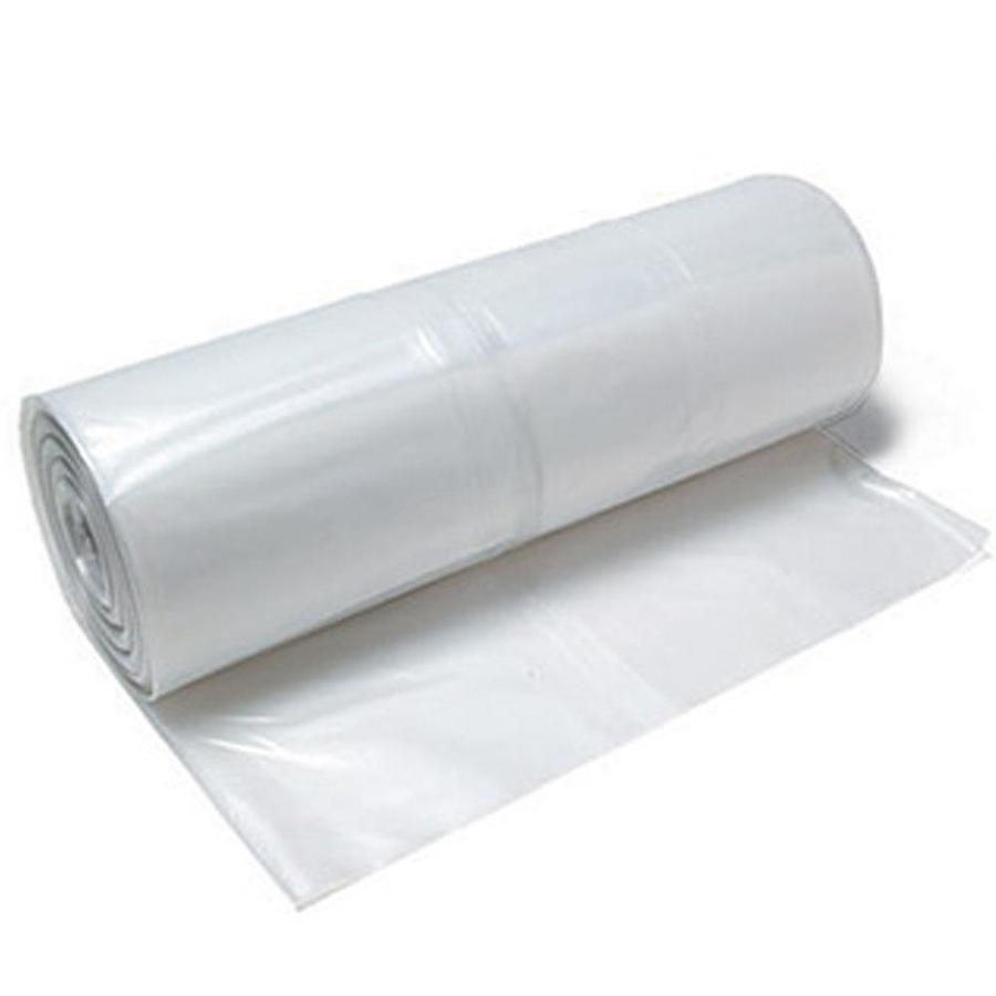 Plastic Sheeting Roll HEAVY DUTY 10 ft x 100 ft Black Professional 6 mil