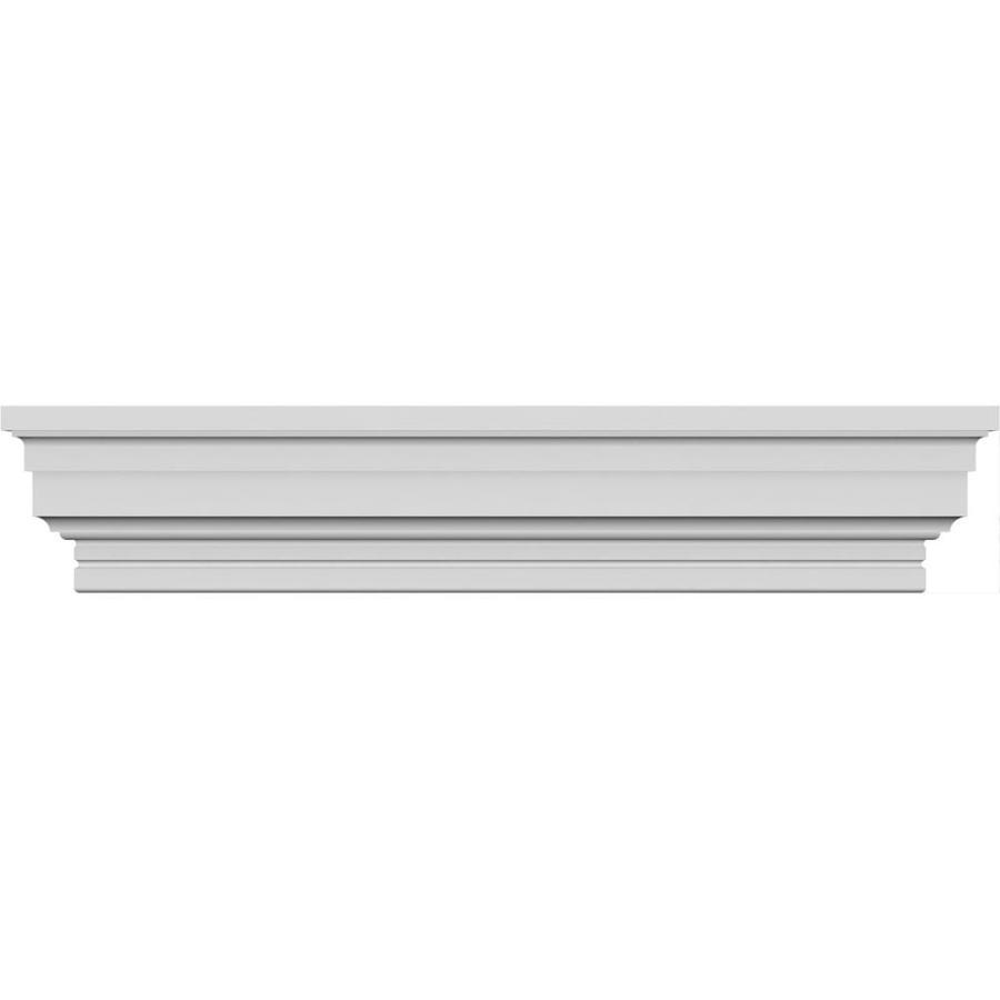 Ekena Millwork CRH08X72ST Crosshead 72 Bottom Width x 80 3//4 Top Width Factory Primed White