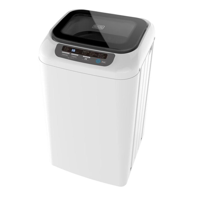BLACK+DECKER 0.84-cu ft Portable Top-Load Washer (White ...