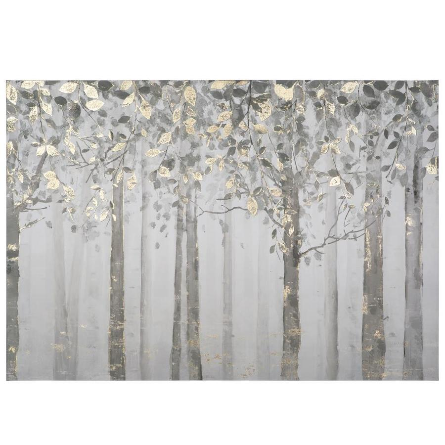Yosemite Home Decor Mixed Media Frameless 27.5-in H x 40-in W Botanical  Canvas Print in the Wall Art department at Lowes.com