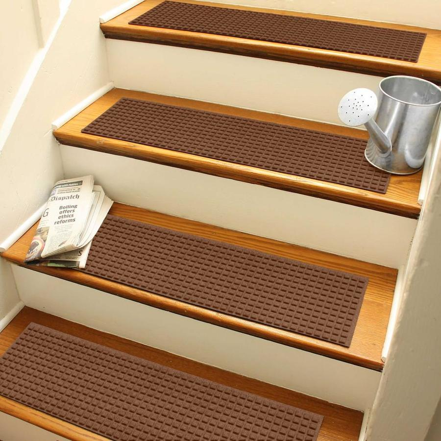 LOT 2 Stair Tread Black Mineral Anti Slip Stair Water Resistant 16 pieces