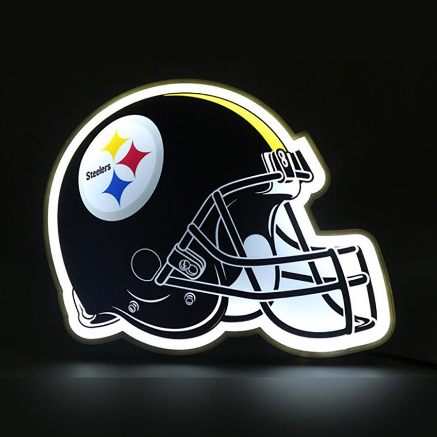 The Memory Company Pittsburgh Steelers 10 5 In Sports Table Lamp Light In The Novelty Lights Department At Lowes Com