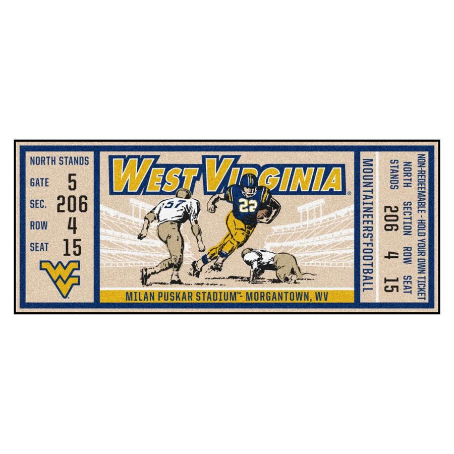 FANMATS NCAA Mississippi State Bulldogs Universityticket Runner Team Color One Size